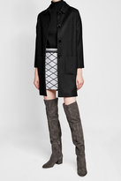 Sergio Rossi Suede Over-Knee Boots
