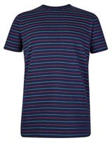 Burton Burton Common People Navy Striped T-shirt*