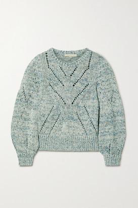 Vanessa Bruno Norren Cropped Cotton-blend Sweater
