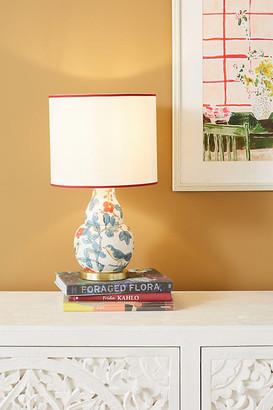 Molly Hatch Flower Patch Table Lamp By in Red Size M