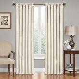 Eclipse Curtains Eclipse Kendall Blackout Thermal Curtain Panel,Ivory,95-Inch