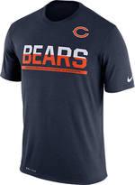 Nike Men's Chicago Bears NFL Practice T-Shirt