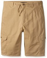 Sean John Men's Big and Tall Angled Pocket Linen Short