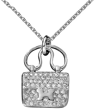 Hermes Heritage  0.29 Ct. Tw. Diamond Necklace