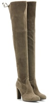 Stuart Weitzman Mytheresa.com Exclusive Highland Suede Over-the-knee Boots