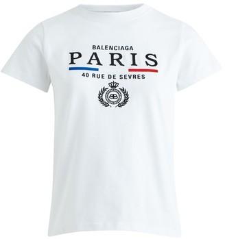 Balenciaga Paris Flag t-shirt