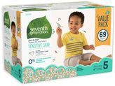 Seventh Generation Seventh GenerationTM 69-Count Size 5 Free & Clear Diapers