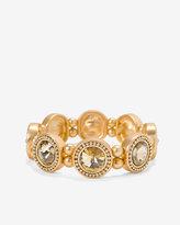 White House Black Market Crystal Rivoli Stretch Bracelet