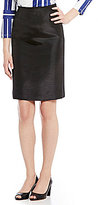 Preston & York Kelly Shantung Pencil Skirt