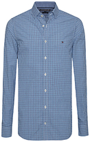 Tommy Hilfiger Lukas Check Slim Fit Shirt, Bluejay/sapphire