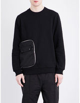 Givenchy Pocket-detailed Cotton-jersey Sweatshirt