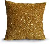 Amore Beaute Handcrafted Pillow Cover Holiday Decor Throw Pillow for Chic Metallic Bling Accent Pillow Sequins Beads Luxury Cushion for Christmas
