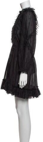 Thumbnail for your product : Ulla Johnson Mock Neck Mini Dress w/ Tags Black