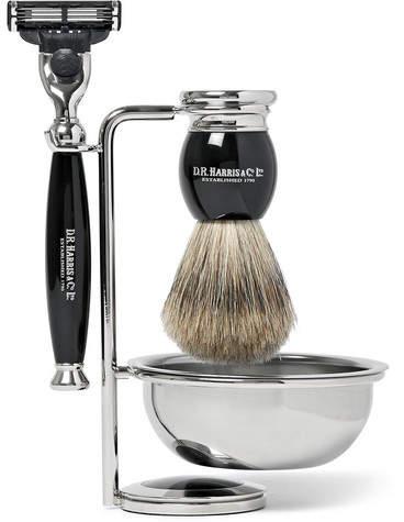 D.R. Harris D R Harris Ebony Shaving Set