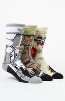 Stance x Disney Star Wars Empire Strikes Back Crew Sock Three Pair Set