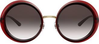 Dolce & Gabbana Eyewear oversize round framed sunglasses