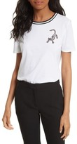 Tory Burch Women's Libby Embellished Tee