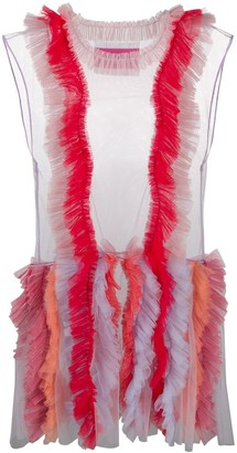 Viktor & Rolf Blurred Sunray dress
