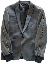 Philipp Plein Grey Viscose Jackets