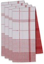 Radish Plaid Dish Towels (Set of 4)