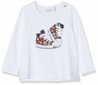 Ikks Junior Baby Girls' Tee Shirt Ml Basket Fleurie T