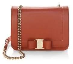 Salvatore Ferragamo Vara Rainbow Small Leather Shoulder Bag