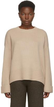 arch4 Beige Cashmere Knightsbridge Crewneck Sweater