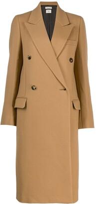 Bottega Veneta classic double breasted coat