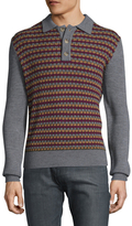 Trina Turk Xavier Wool Polo Shirt