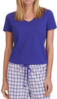 Nautica Plus V-Neck Sleep Tee