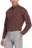 Van Heusen Long Sleeve Stripe Button-Front Shirt