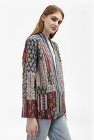 French Connection Tilly Quilt Patchwork Jacket