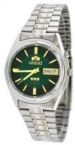 Orient #BEM6Q002F Men's Green Dial Tri Star Standard Self Winding Automatic Watch