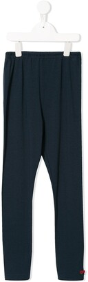Familiar Relaxed Fit Bow Detail Trousers