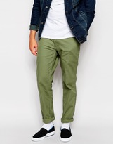 Patagonia Chinos In Washed Canvas Regular Fit - Green