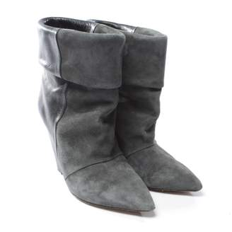Isabel Marant Grey Suede Ankle boots