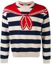 Gucci bandana Tromp L'oeil sweater