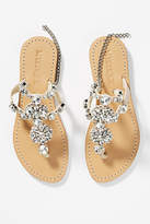 Mystique Crystal Embellished Gladiator Sandals