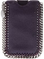 Stella McCartney chain trim iPhone case - women - Polyester - One Size