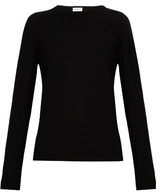 Saint Laurent Distressed wool and cashmere-blend sweater