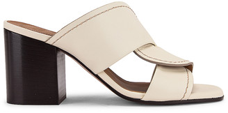 Chloé Candice Sandals in Sand Yellow   FWRD