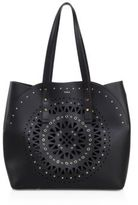 Furla Cruise Aurora Medium Cutout Leather Tote