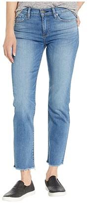Hudson Jeans Nico Mid-Rise Straight Crop in Lovesick (Lovesick) Women's Jeans