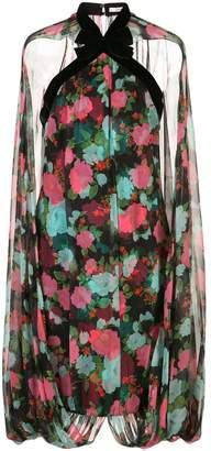 Erdem bubble cape dress