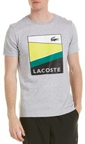 Lacoste Sport Graphic T-shirt.
