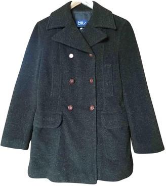 Byblos Brown Wool Coat for Women
