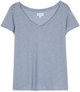 Velvet by Graham & Spencer Leota Striped Jersey T-shirt