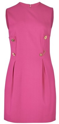 Versace Short fitted dress