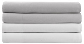 Kenneth Cole New York Solid Tencel Cotton Queen Sheet Set Bedding