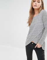 Only Twist Cross Front Knit Sweater